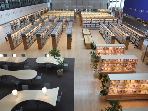中央図書館の施設案内 | 山口市立図書館